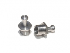 14mm Stainless Steel Euro Speargun Muzzle Band Adapters