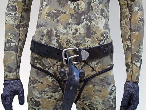47//51//59 inch Rubber Weight Belt for Free Diving Spear Fishing Snorkeling