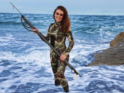 Speardiver Reef Women Spearfishing Wetsuit