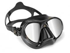 Cressi Nano Black HD Mirror Lenses Mask