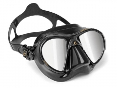 Cressi Nano HD Mirror Lens Mask Black